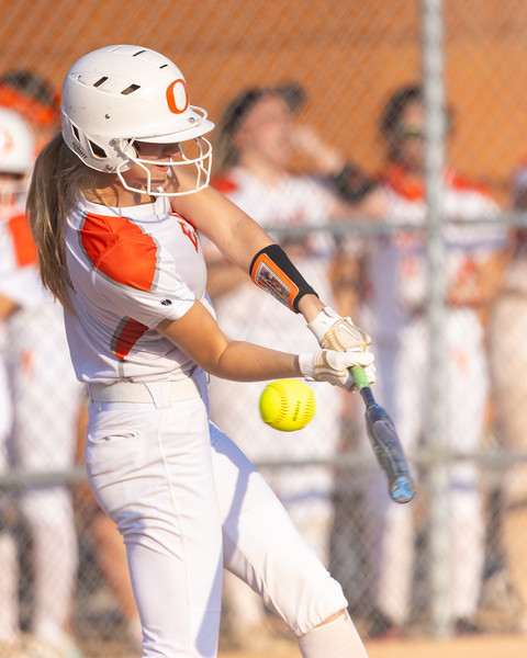 The Columbus East varsity softball team lost Tuesday's home non-conference game against Brownstown Central by a score of 8-2. Photo by Tony Vasquez for Indy Sports Daily.