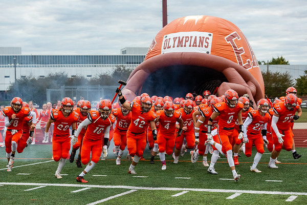 The East Olympians crushed Bedford North Lawrence 63 - 20 on October 2, 2020. Photos by Tony Vasquez for Indy Sports Daily.