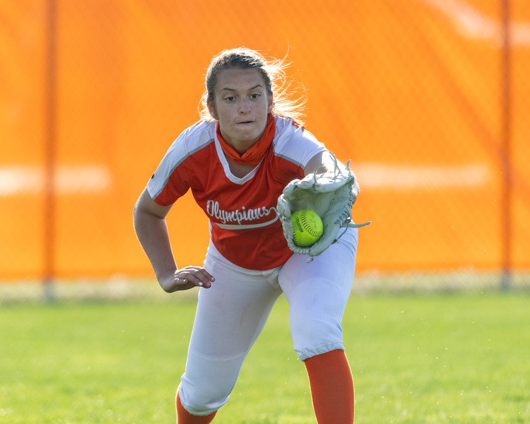 The Columbus East Olympians led Brown County 7-0 in the bottom of the second when the game was called due to lightning delays. Photo by Tony Vasquez for Indy Sports Daily.