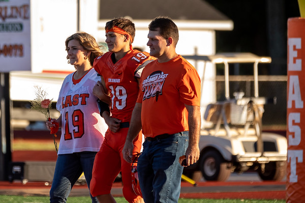 The East Olympians crushed the New Albany Bulldogs 48-14 on senior night. Photo by Tony Vasquez for Indy Sports Daily.