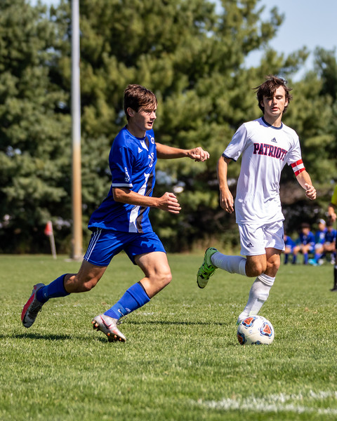 Columbus North defeats Terre Haute North 7-0 on September 19, 2020. Photo by Tony Vasquez for Indy Sports Daily.