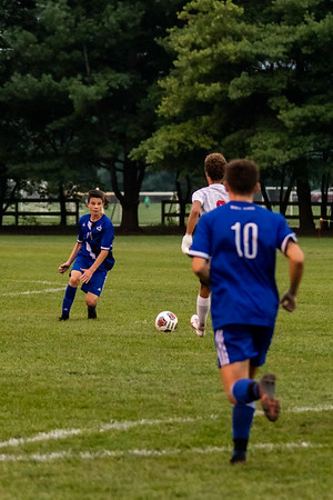 Columbus North Bulldogs and Center Grove soccer teams tied 2-2. Photo by Tony Vasquez for Indy Sports Daily.
