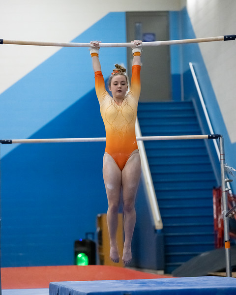 Columbus North defeated  Columbus East Gymnastics at the Bill Stearman Athletic Complex on January 11 2021. Final score 106.725 - 100.825. Photo by Tony Vasquez for Indy Sports Daily