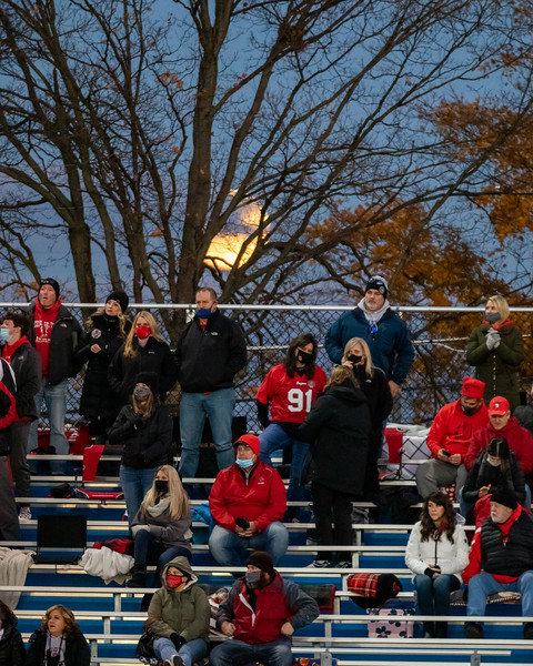 The Columbus North Bulldogs lost their home playoff game against the Center Grove Trojans on October 30, 2020 by the final score of 42-7. Photo by Tony Vasquez for Indy Sports Daily.