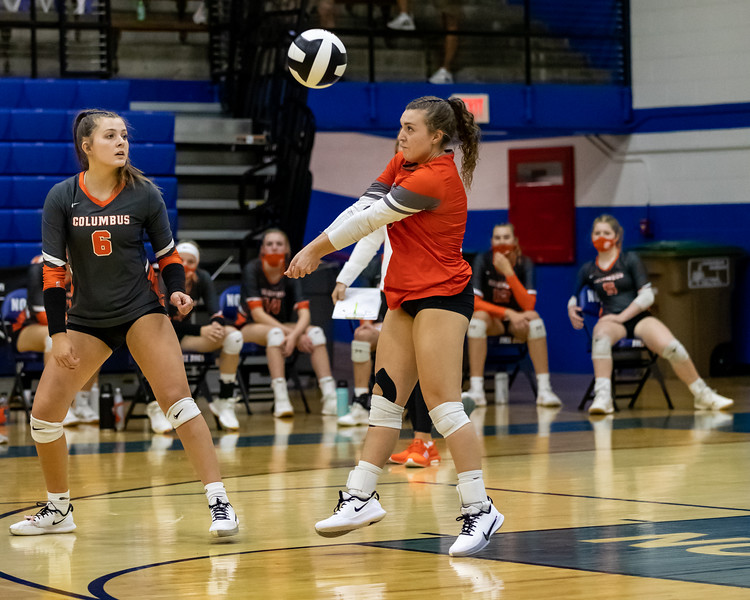 The East Olympians defeated the North Bulldogs 3 – 0 in the crosstown matchup. Photo by Tony Vasquez for Indy Sports Daily.