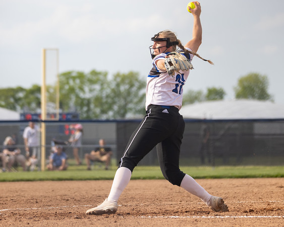 Columbus North Softball defeated Jennings County 3-0 on May 18, 2021. Photo by Tony Vasquez for Indy Sports Daily.
