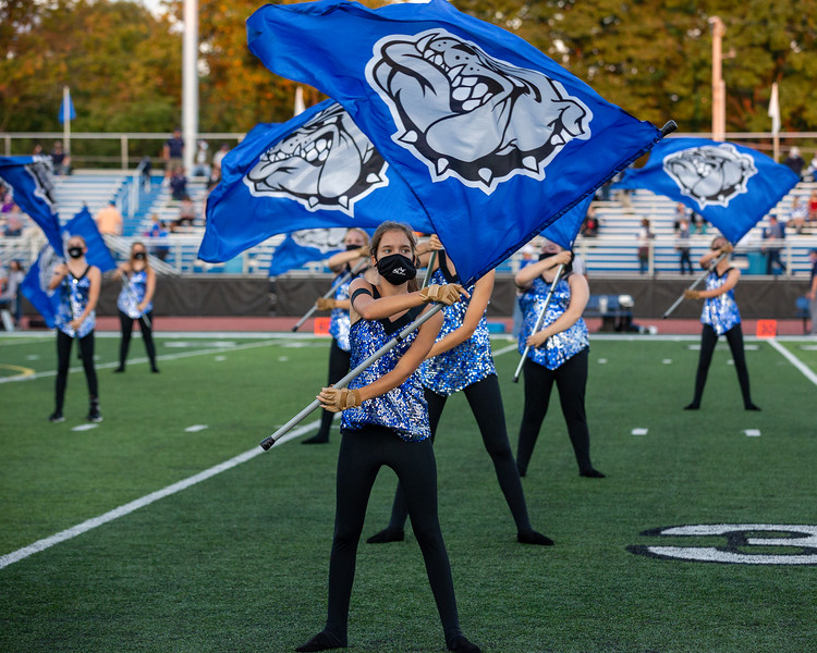 The North Bulldogs defeated Terre Haute North on Homecoming night by the final score 41-21. Photo by Tony Vasquez for Indy Sports Daily.