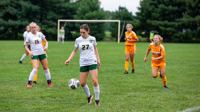 The East Olympians defeat Floyd Central girls soccer team on September 12, 2020. Final score  6-1. Photo by Tony Vasquez for Indy Sports Daily.