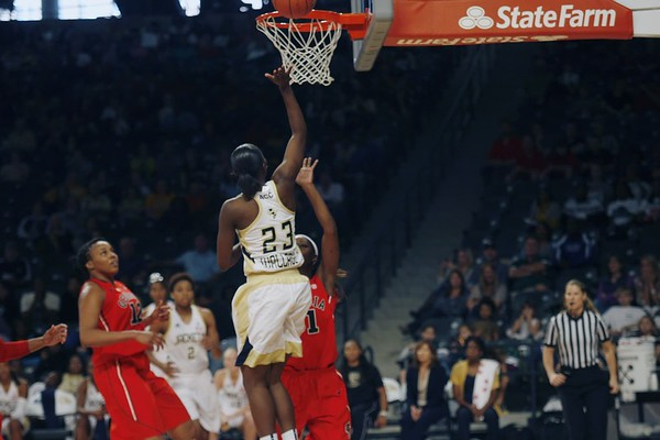UGA @ GT Women's Basketball 2012-13