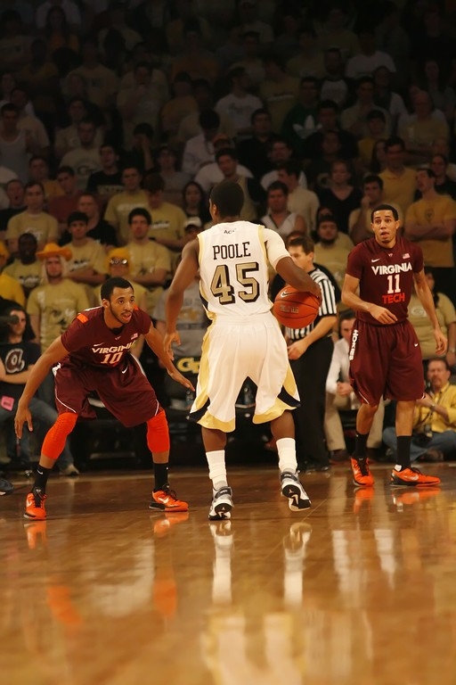 Virginia Tech @ GT Basketball 2012-2013