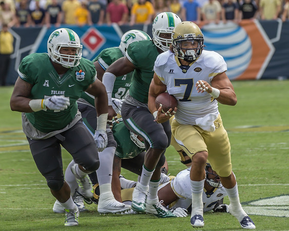 2015-9-12 Tulane Green Wave @ GT