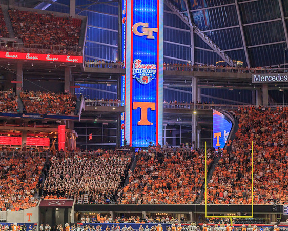2017-9-4 Tennessee vs. GT Chick-fil-a Kickoff Game
