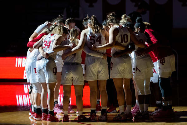 Indiana defeats Penn State at Assembly Hall in Bloomington, Indiana on February 10,  2021, by the final score of 90 to 65. Photo by Tony Vasquez for Indy Sports Daily.