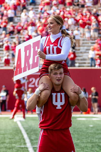 Indiana University defeats Eastern Illinois 52 - 0. Photo by Tony Vasquez.