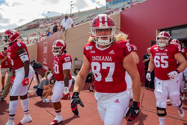 Indiana University defeats Eastern Illinois 52 - 0. Photo by Tony Vasquez.