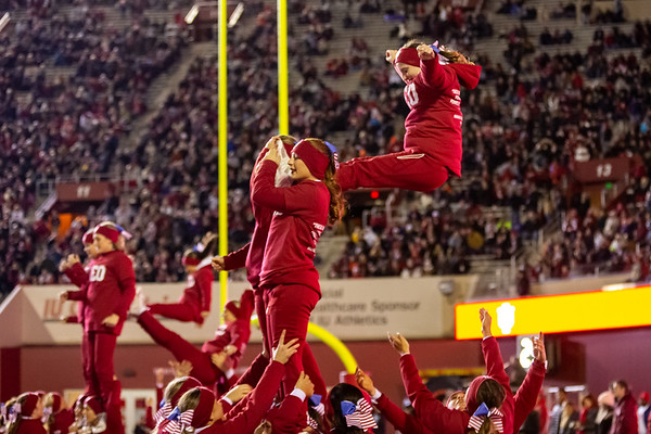 Indiana defeats Northwestern 34 -3 at Memorial Stadium. Photo by Tony Vasquez for Indy Sports Daily.