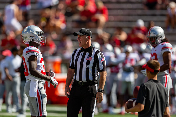 Ohio State defeats Indiana 51 to 10. Photo by Tony Vasquez for Indy Sports Daily.