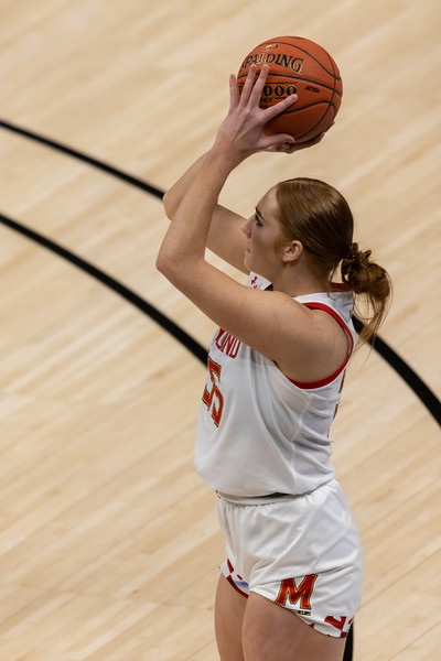 The Maryland Terrapins are your Women's Big Ten Tournamanet Champions. Marylnd defeated Iowa 104 - 84. Photo by Tony Vasquez.