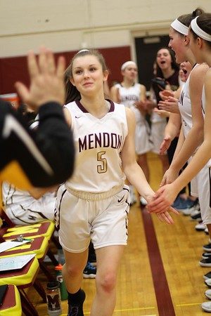 Mendon Basketball Girls Sectionals 2018