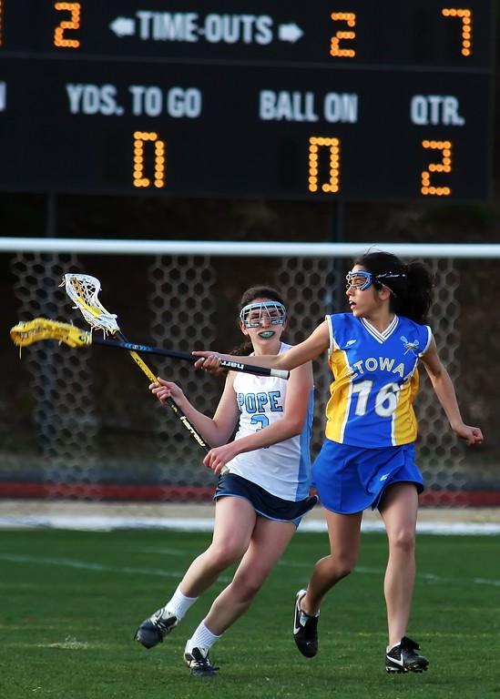 2010 Pope Lacrosse vs Etowah
