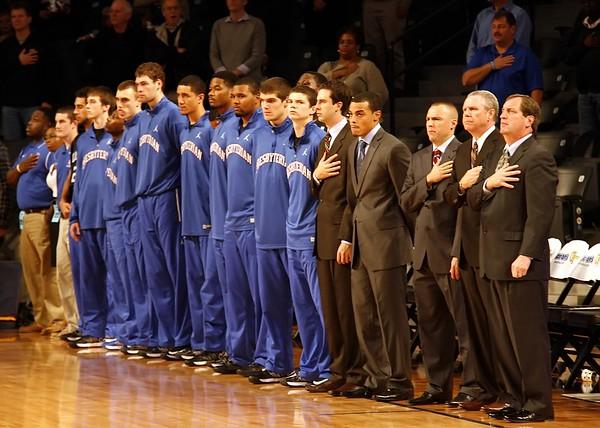 Presbyterian @ GT Basketball 2012
