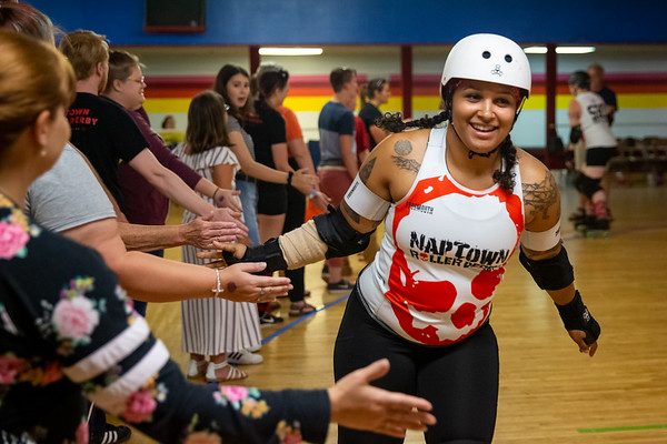 Terrorz Roller Derby vs Naptown Third Alarm on July 26, 2019 at Columbus Skateland. Photo by Tony Vasquez.