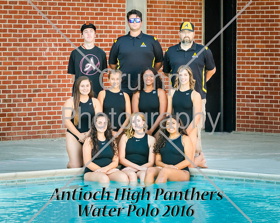 Portraits 2016 Girls Water Polo