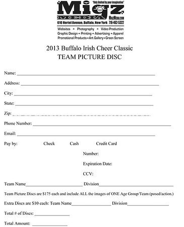 Buffalo Irish Cheer Classic 2013