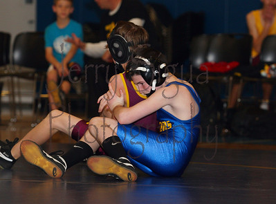 Varsity wrestling vs Cavitt Ranch - 01/25/2012