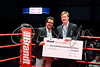Brandt Presents $10,000 Cheque to Pat Fiacco for the KGMBC