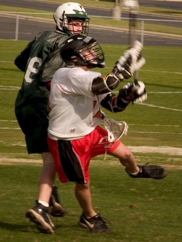 Zach Dielmann, attack, passes on the run.