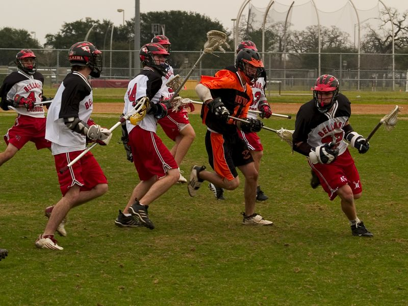 Evan Alexander, attack, taking on six from Bellaire.