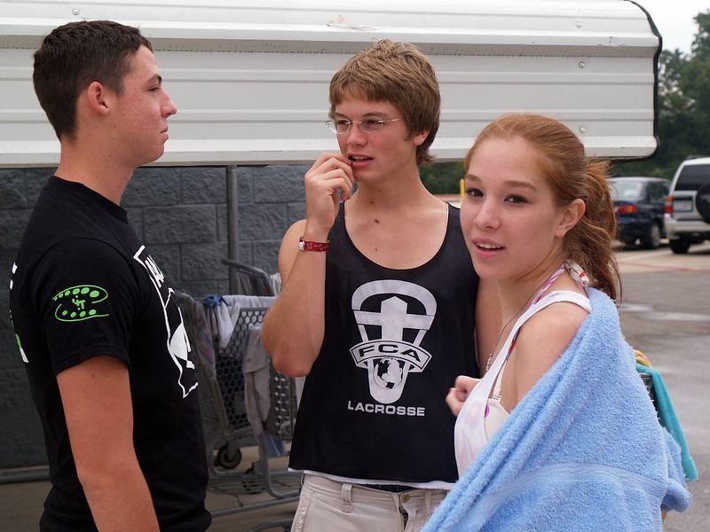 Trevor, Brendan and Whitney.