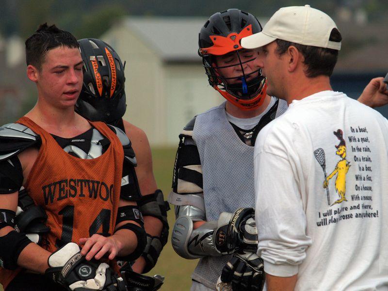 Coach Maggio teaches.