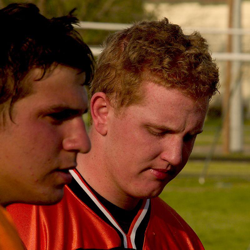 Seniors Gavin Rogus and Michael Becherer.