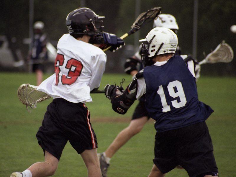 Brett Harber, Lacrosse, Westwood JV 2003-2004 Season.