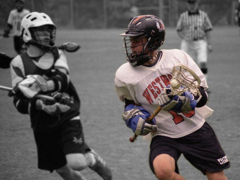 Brandon Weronick, Lacrosse, Westwood JV 2003-2004 Season.