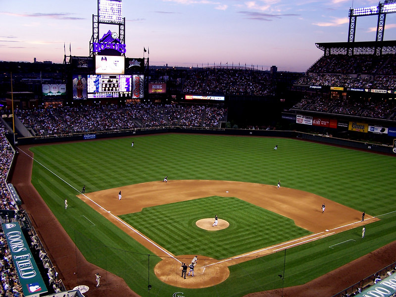Purple Sky at Coors Field