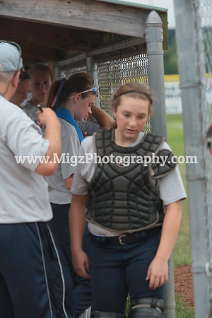 Lou Gehrig Gold vs Rochester Lady Lions