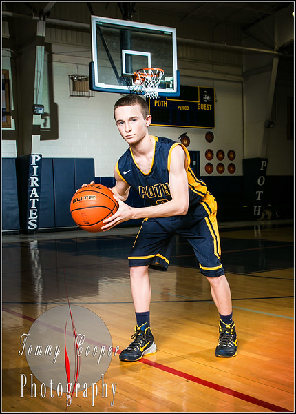 Sports portraits Poth Basketball
