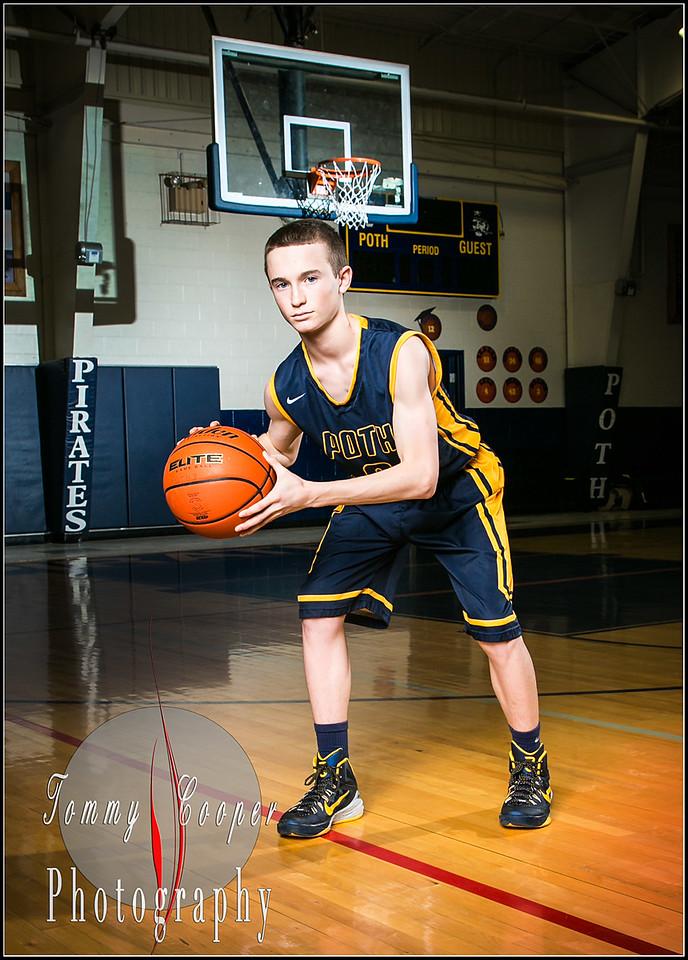 Sports portraits Poth Basketball