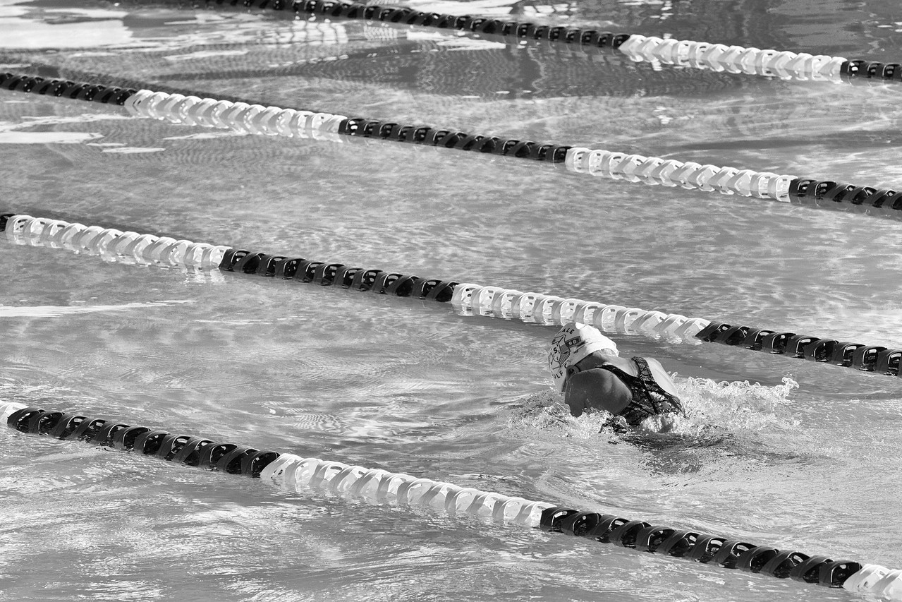 Grace out front in the 50 Breast