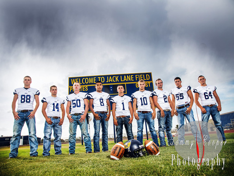 Poth Senior Football Players