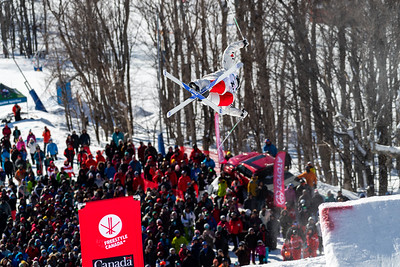 Mont-Tremblant, QC - January 27 -  Coupe Du Monde De Bosses Tremblant Finals at Tremblant, Photo par Gary Yee