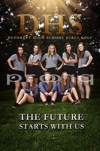 DeForest Girls Golf