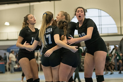 2018-10-25 Chelsea volleyball 1st & 2nd round