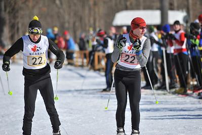 NCSSAA XC ski Nakkertok 11 Feb 2014