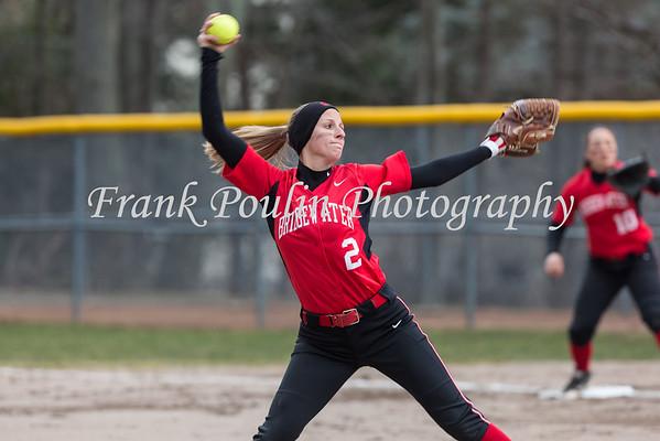 Bridgewater softball 3/18/2016