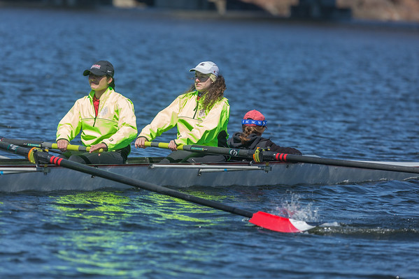 Clark rowing 4/10/2016