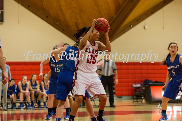 Clark women's basketball 1/9/2016